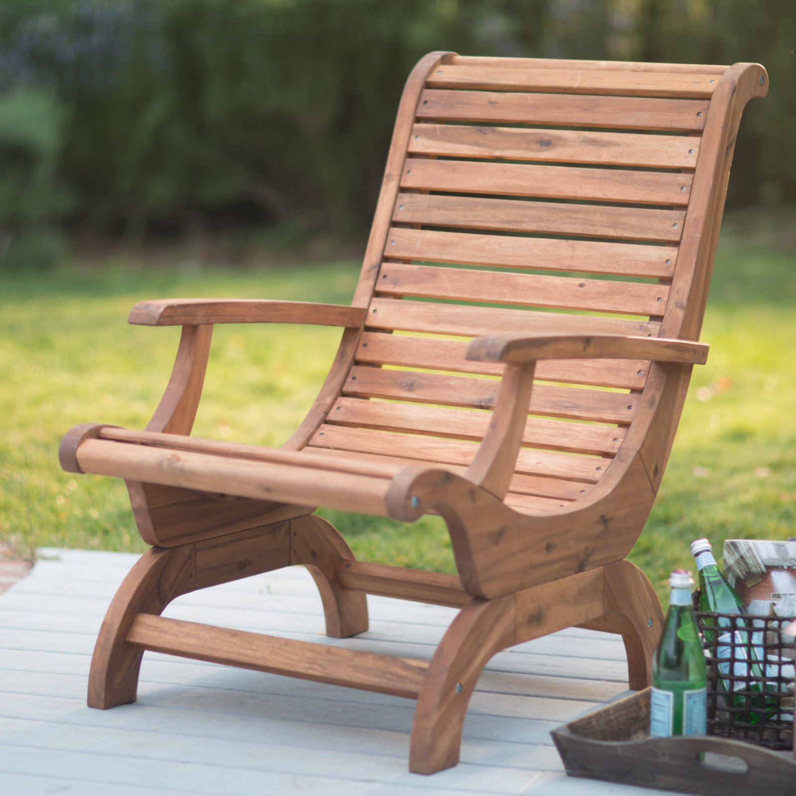 Belham Living Avondale Adirondack Chair Natural by