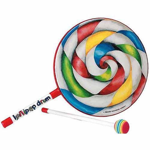 "Remo Kids' 10"" Lollipop Drum"
