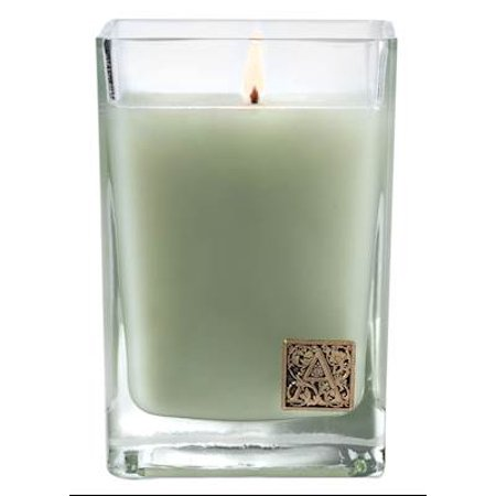 FRESH HYDRANGEA Aromatique Cube 12 oz Glass Scented Jar Candle