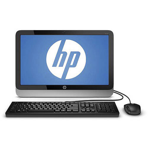 "HP Black 19-2113w All-In-One Desktop PC with Intel Celeron J1800 Processor, 4GB Memory, 19.45"" HD+ Monitor, 500GB Hard Drive and Windows 8.1 (Eligible for Free Windows 10 Upgrade)"