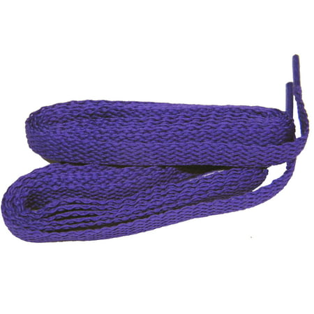 63 Inch 160 cm Royal Purple professional proATHLETIC™ Flat 8mm sneaker shoelaces -(2 Pair