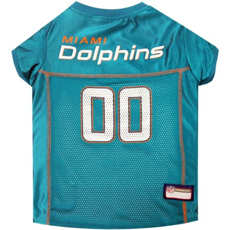 Pets First NFL Miami Dolphins Pet Jersey