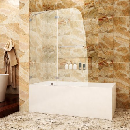 Frameless Bath Shower Doors (SUNNY SHOWER TD, 48