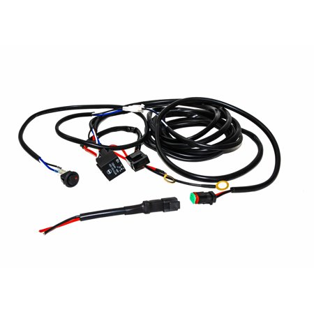 OZ Single DT harness plug wiring kit for LED HID lights
