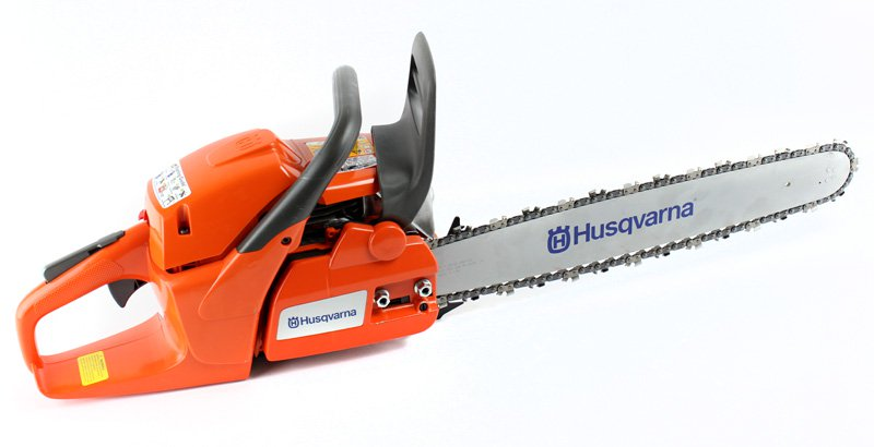 "Click here to buy HUSQVARNA 455R 20"" 56cc Gas Powered Chain Saw Chainsaw (Certified Refurbished) by Husqvarna."