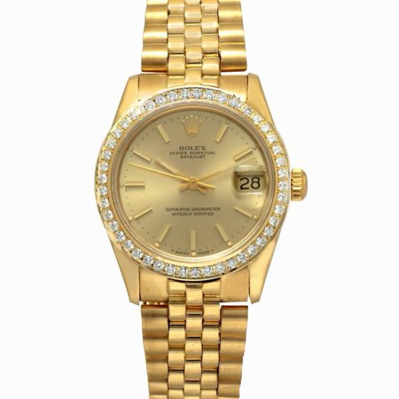 Pre-Owned Rolex Datejust 68278 Gold Women Watch (Certified Authentic & Warranty)