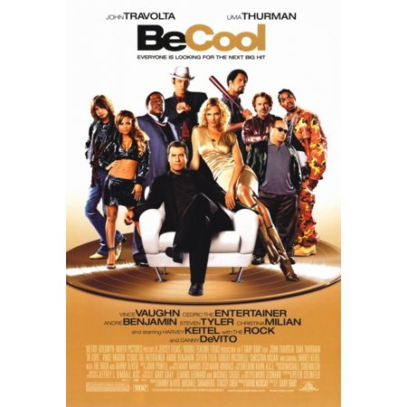 Be Cool Movie Poster Print  27 X 40