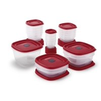 Deals on Rubbermaid Easy Find Vented Lids Containers 40-Piece Set