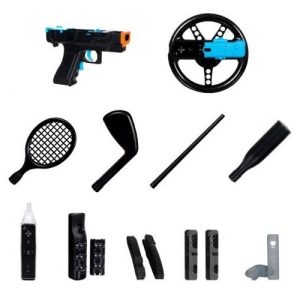 DreamGear DGWII3123M Players Plus 15-In-1 Kit
