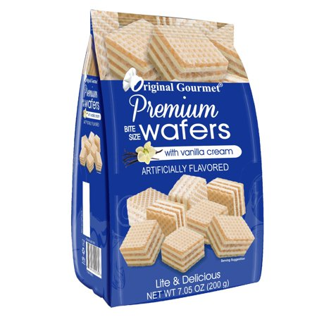 Original Gourmet Wafers, Vanilla, 7 Ounce