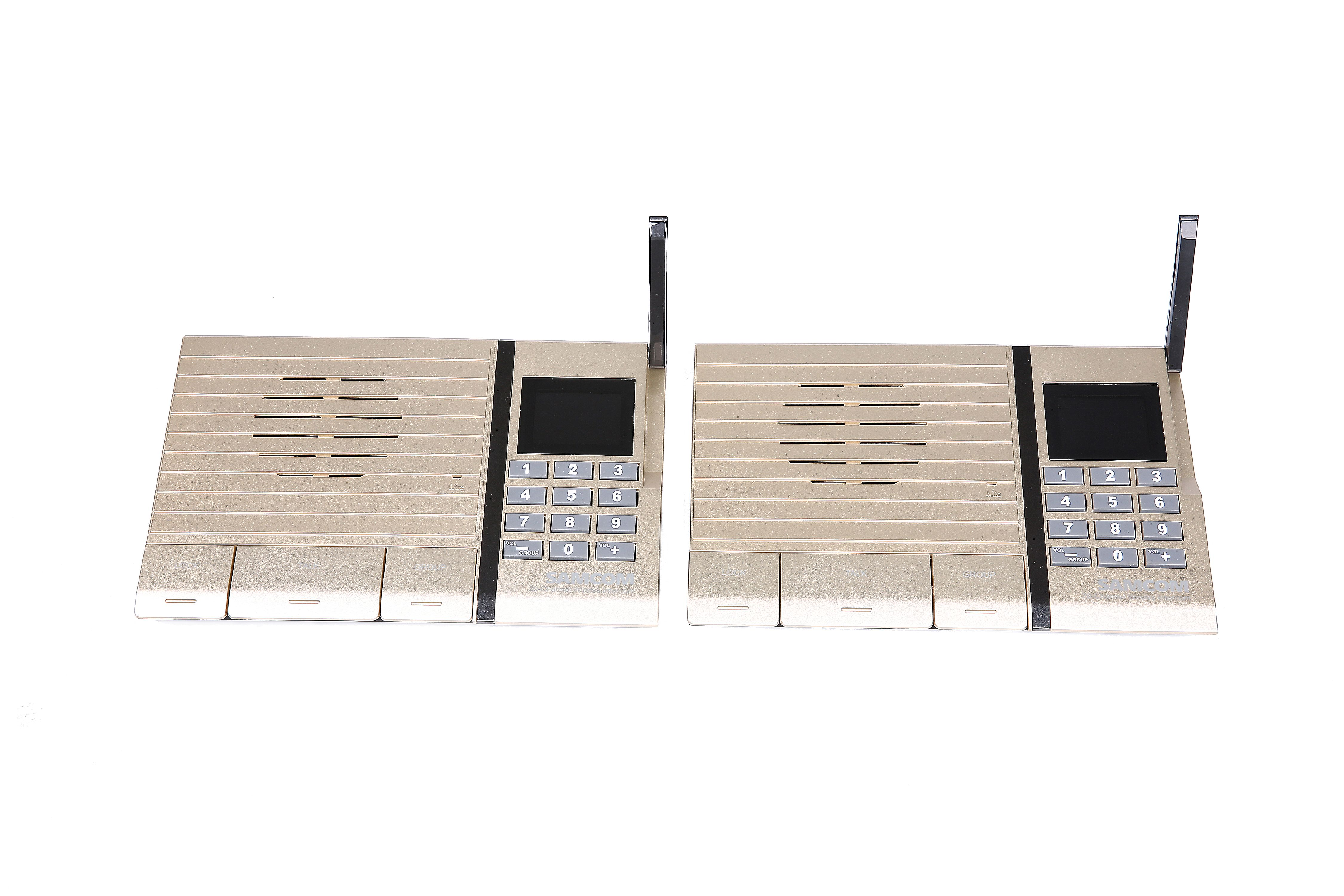 Wireless intercom system for home or office