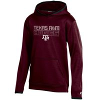 Youth Russell Athletic Maroon Texas A&M Aggies Pullover Hoodie