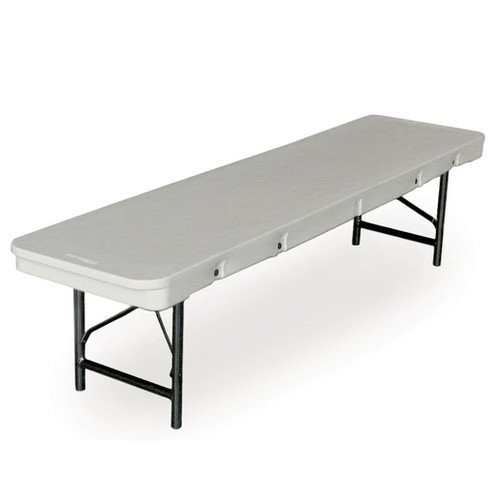 McCourt Manufacturing Commercialite 96'' Plastic Folding Table (Set of 5)