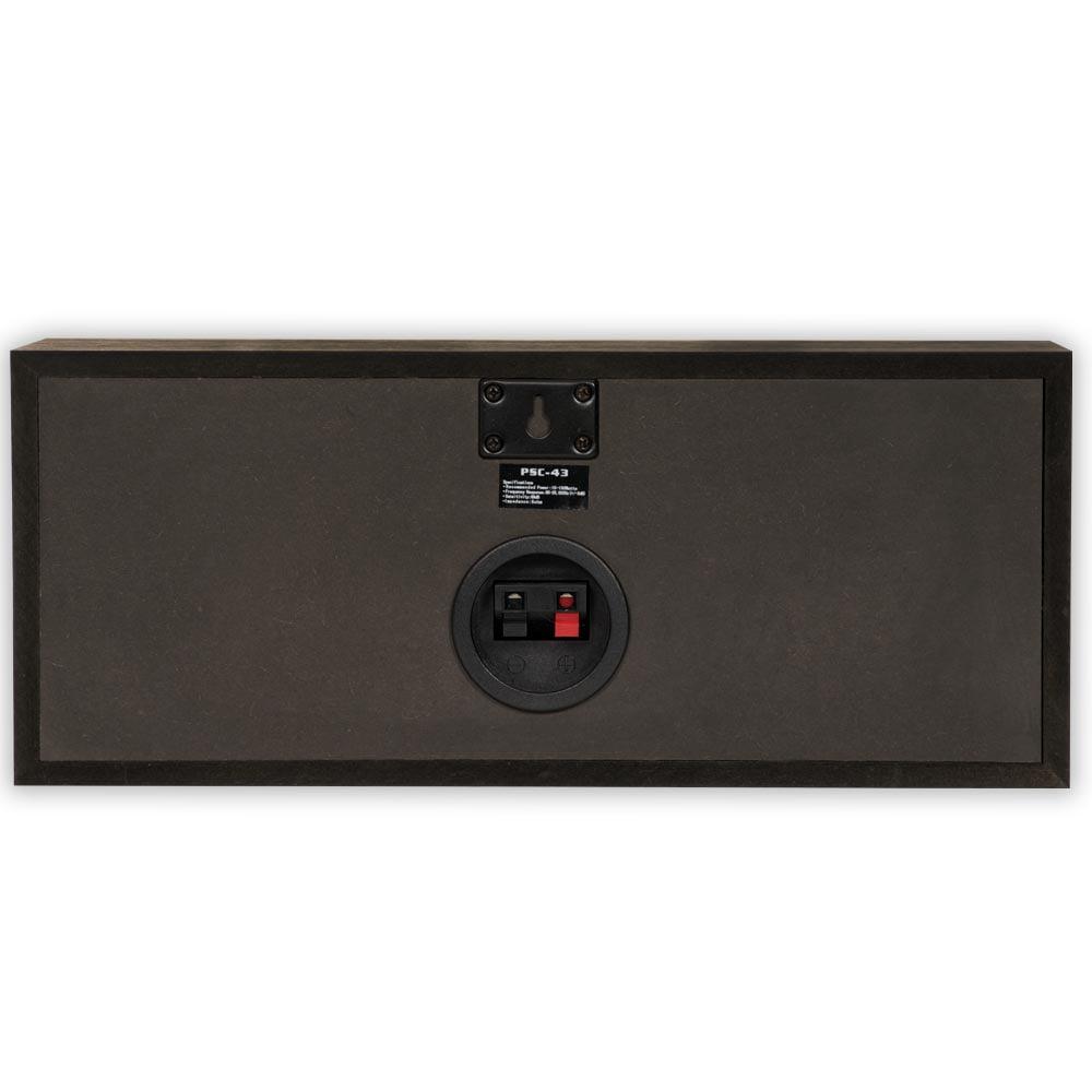 Acoustic Audio PSC-43 Center Channel Speaker Black
