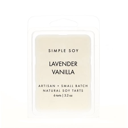 Simple Soy Natural Scented WAX MELTS, Lavender Vanilla