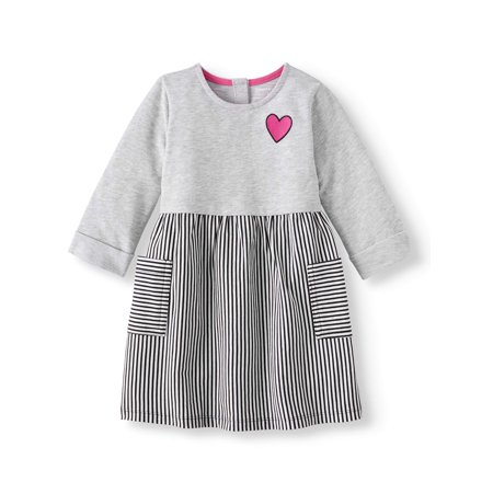 Knit Dress (Toddler Girls) - Casual Dresses For Girl