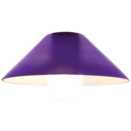 Platinum Brushed Shade (Access Lighting Rumanian Glass Shade - Brushed Steel - 89115-COB)