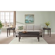 Picket House Furnishings Steele 3pc Occasional Table Set, Gray Oak