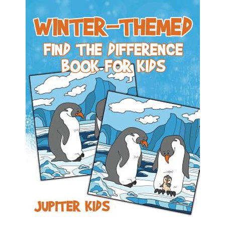 Winter-Themed Find the Difference Book for - Halloween Find Differences