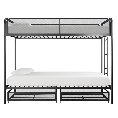 Harriet Bee Tammi Twin over Twin Bunk Bed with Drawers