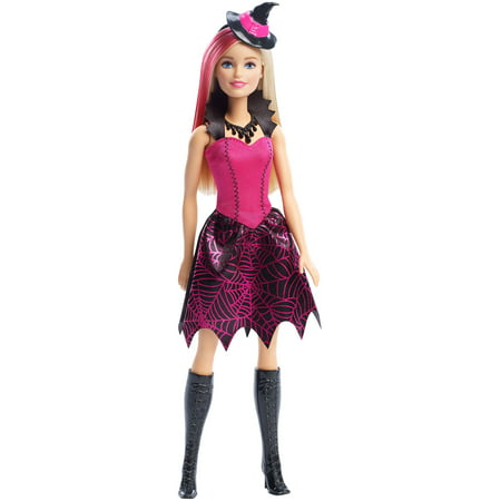 Halloween Doll Make Up (Barbie Halloween Witch Doll)