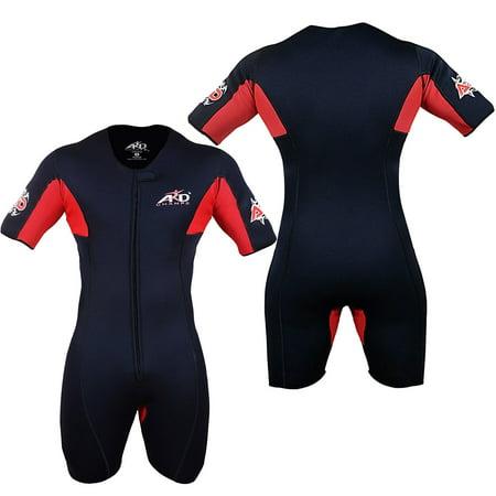 ARD CHAMPS™ Neoprene Sweat Sauna Suit Weight Loss Slim Shorts MMA Gym Boxing MMA 6XL - Neoprene Sweat Shorts
