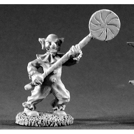 Reaper Miniatures Kosmo Killer Clown #02216 Dark Heaven Legends Unpainted Metal - Twisted Metal Clown