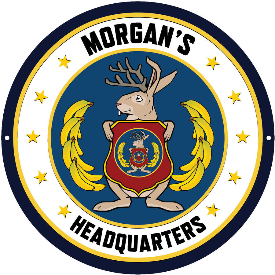 Personalized Odd Squad Seal Circle Tin Room Sign