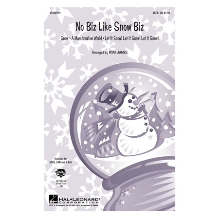 Hal Leonard No Biz Like Snow Biz  Medley  Showtrax Cd Arranged By Ryan James