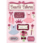 Cardstock Stickers-Just Dance
