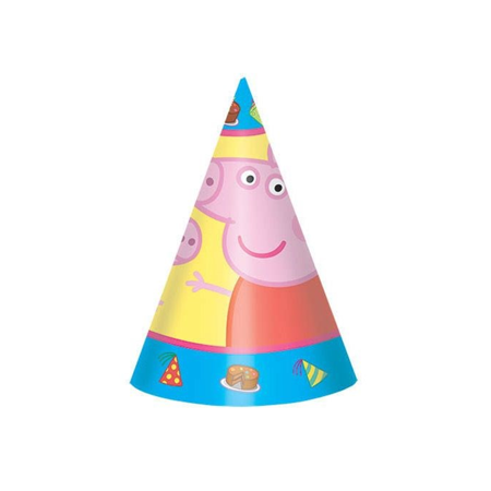 Peppa Pig Party Hats (8)](Tea Party Hats For Sale)