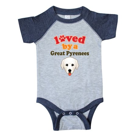 Great Pyrenees Dog Gift Infant Creeper