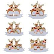 MEGAWHEELS Christmas Tree Pendant Cute Deer Ornament Home Decoration