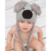 Knitnut By JL Handmade Baby's Koala Bear Knit Hat