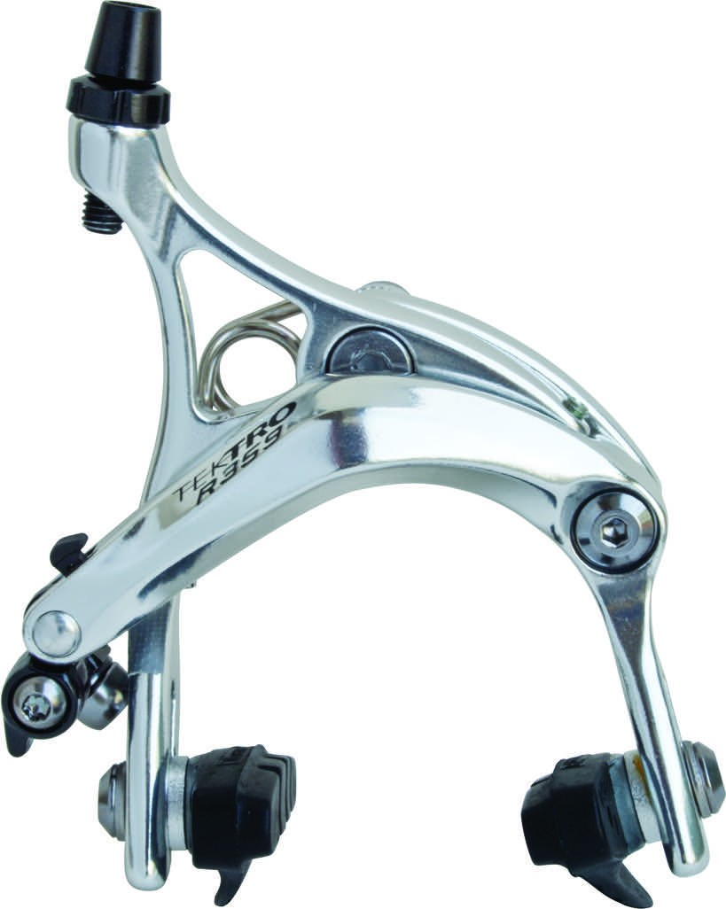 Tektro R559 Extra Long 53-73mm Front Brake Caliper Silver Recessed Nut Road Bike