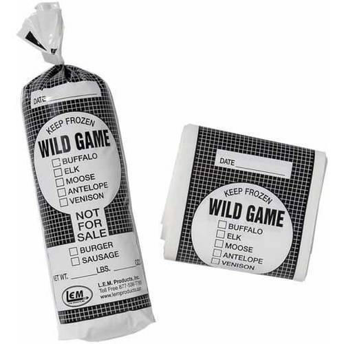 LEM 2Lb Wild Game Bags, 25-Count
