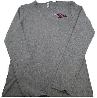 79275 Pistols and Pumps Long Sleeve Bella T-Shirt