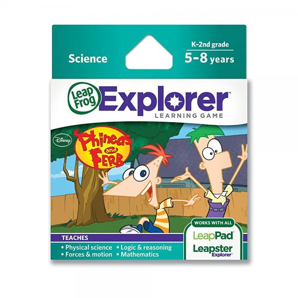 LeapFrog  Disney Phineas and Ferb Learning Game (Works with LeapFrog Tablets, LeapsterGS, and Leapster Explorer)