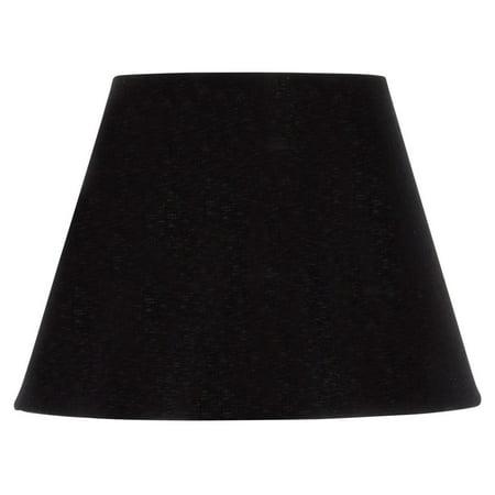 (6 Inch European Empire Style Chandelier Lamp Shade Black Silk)