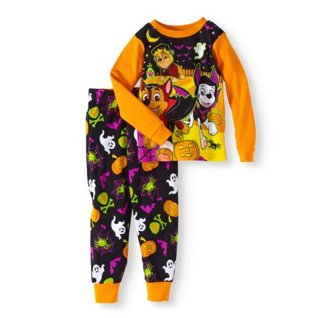 Halloween Baby Toddler Boys' Cotton Tight Fit Pajamas 2-Piece Set - Banana In Pajamas Halloween