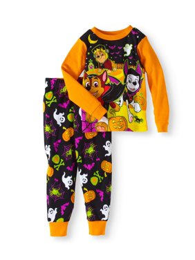 Halloween Baby Toddler Boys' Cotton Tight Fit Pajamas 2-Piece Set