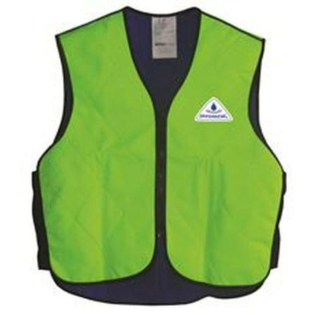 - Hyperkewl Evaporative Sport Cooling Vest, Hi-Viz Lime, Extra-Large