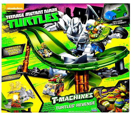 Teenage Mutant Ninja Turtles T-Machines Turtle's Revenge Playset