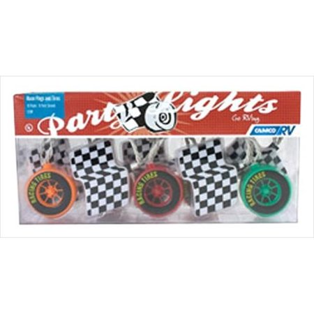 Camco 42658 Race Flags And Tires Party Light - image 2 of 2