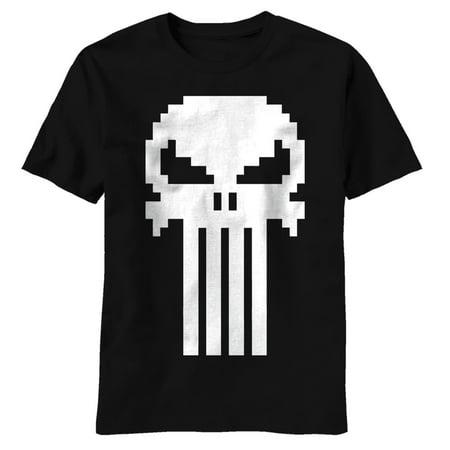 The Punisher - Skull Blocks T-Shirt - The Punisher Suit