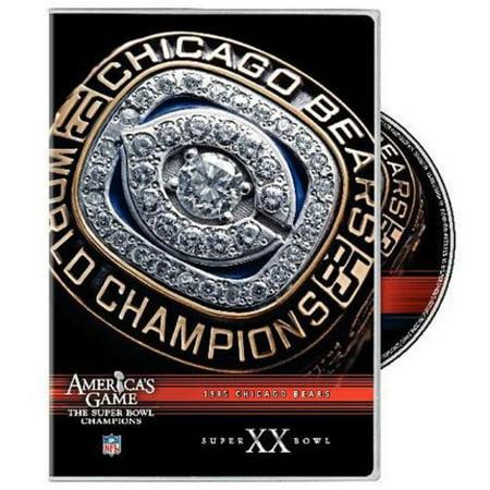 NFL America's Game: 1985 Chicago Bears Super Bowl XX (Full Frame)