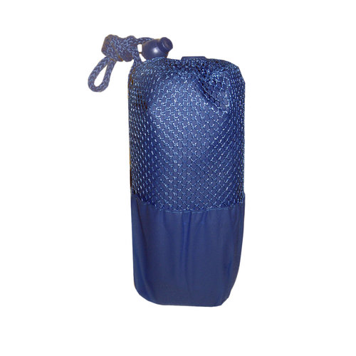 Adult Poncho, Blue