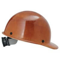MSA Skullgard Protective Caps and Hats, Fas-Trac Ratchet, Cap, Nat. Tan