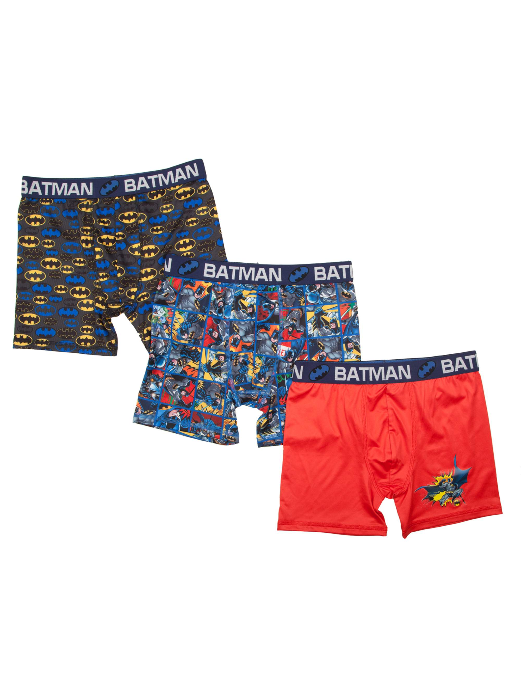 Boy's DC Comics Batman Poly Boxer Briefs