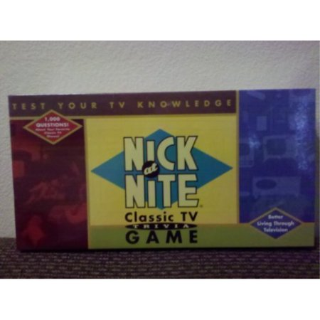 nick at nite classic tv trivia game, issued by cardinal, copyright 1996 by cardinal industries (Game Informer Issue 1)